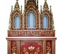Tòa Công Giáo, Tòa 3 thiếp vàng Ý
